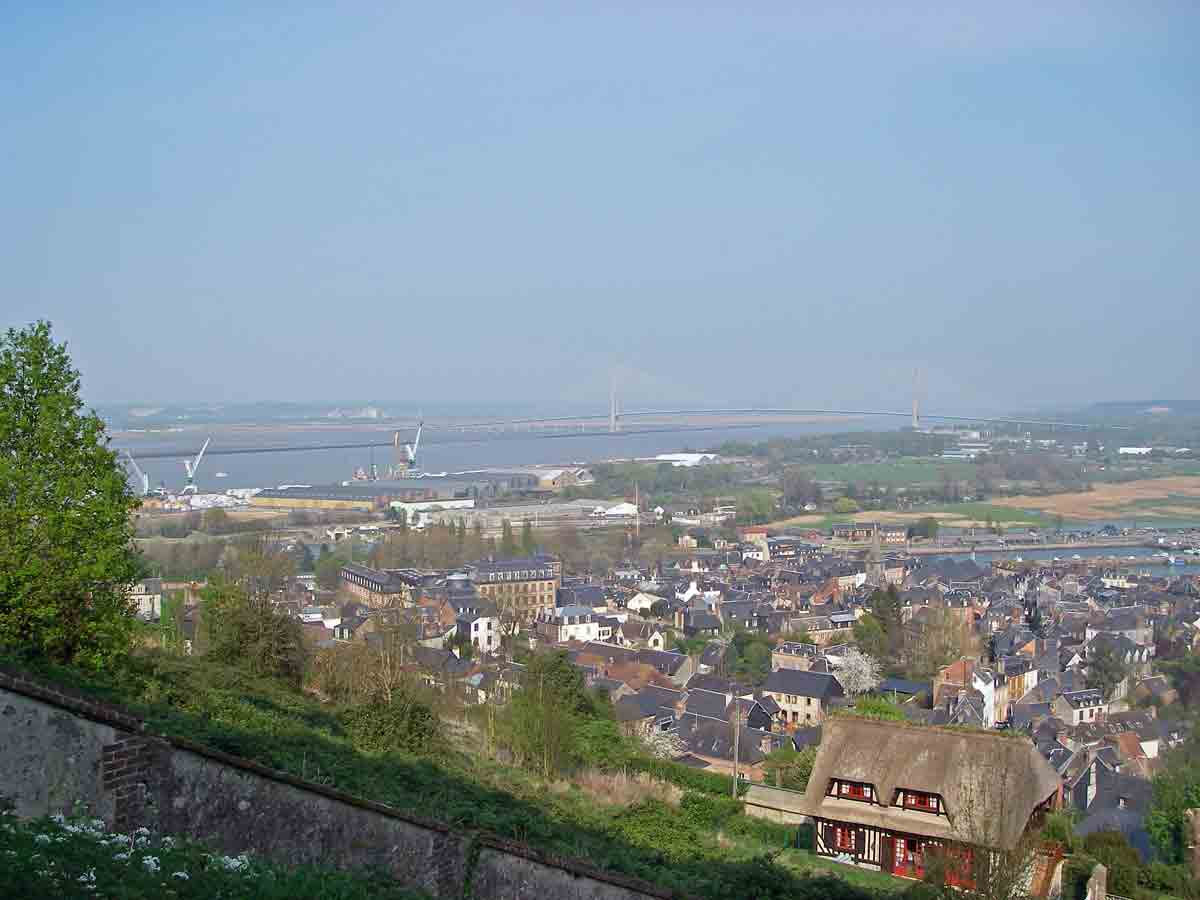 Honfleur-from-hill